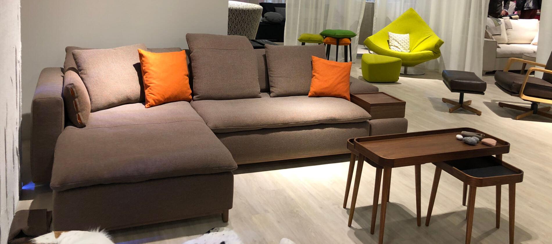 signet sofas 2018 highlights der imm 2018 in koeln. Black Bedroom Furniture Sets. Home Design Ideas