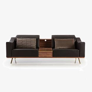 Bruehl Deep Space Sofa