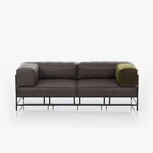 sofa easy pieces metal bruehl