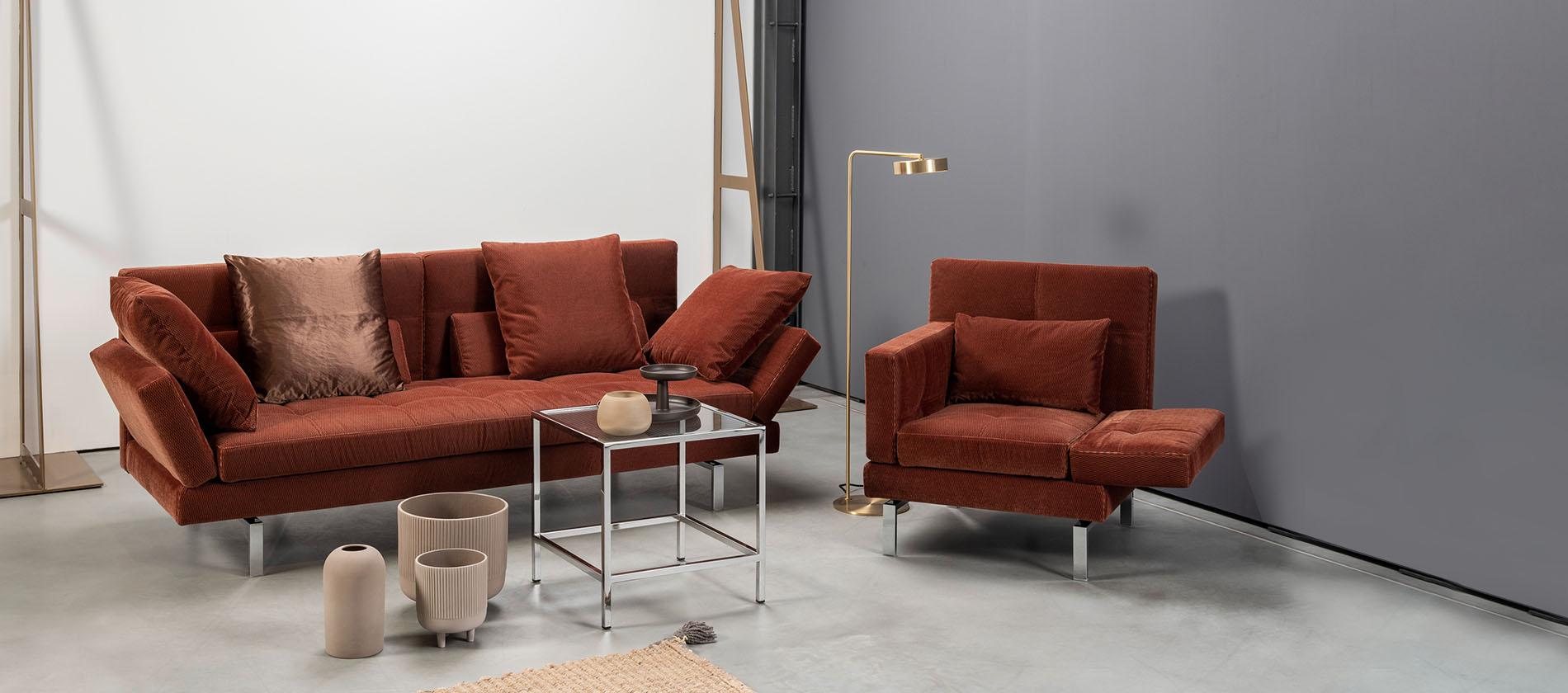 Design Schlafsofa Daybed Elegant Kombination