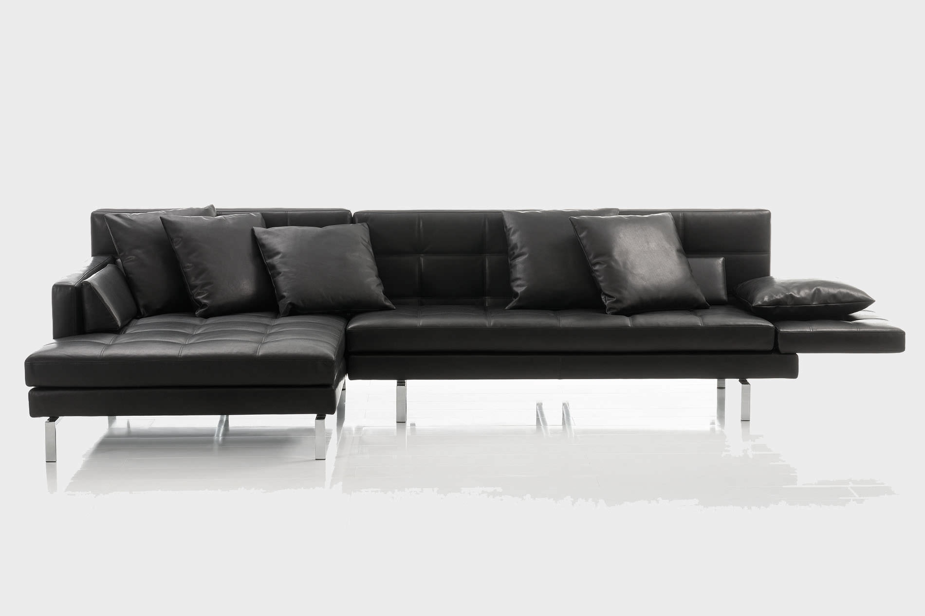 Ecksofa amber von br hl das umfangreiche sofasystem for Ecksofa zusammenstellen