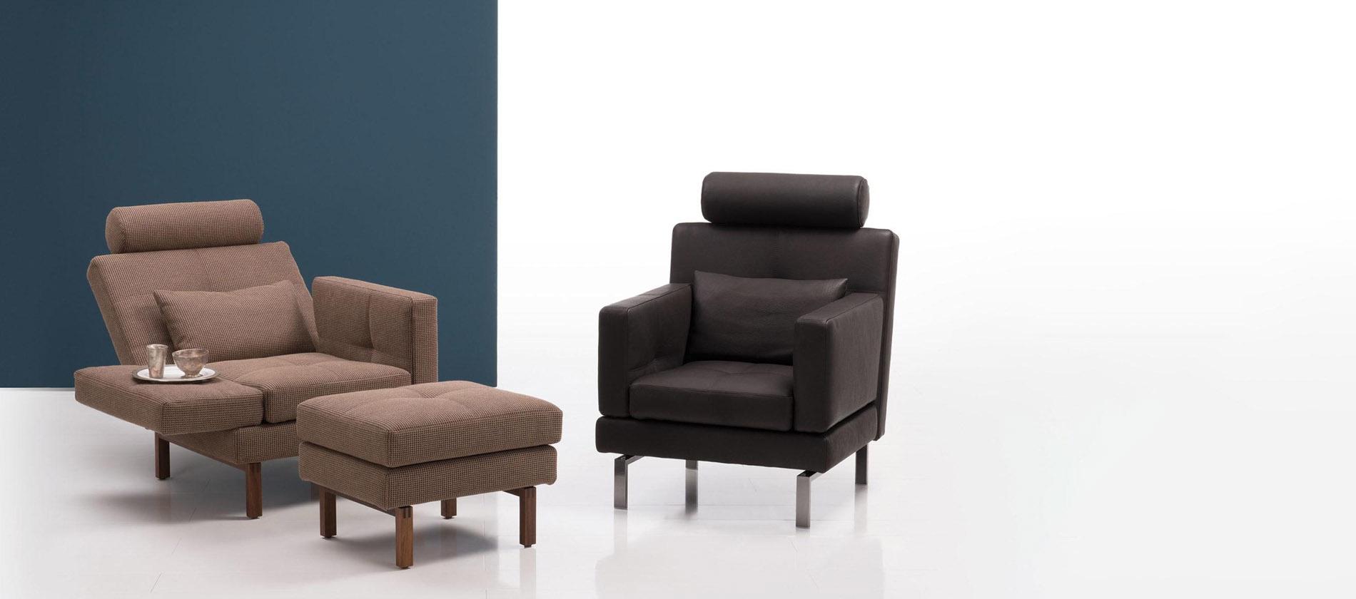 sessel amber von br hl der elegante funktionssessel. Black Bedroom Furniture Sets. Home Design Ideas