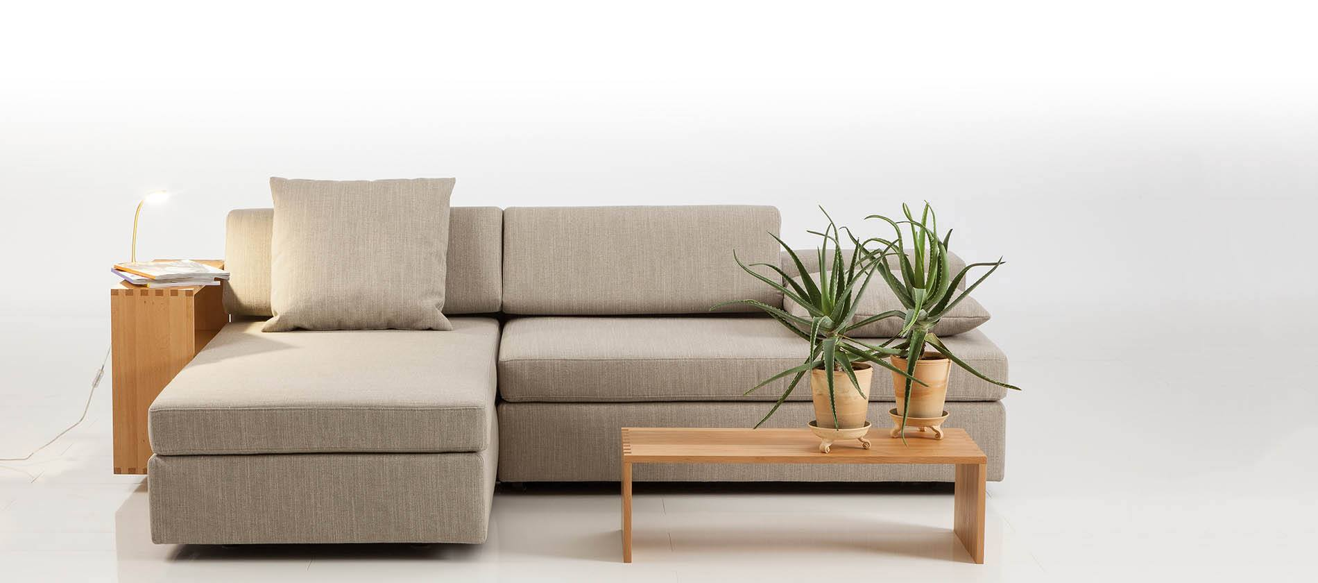 schlafsofa clip von br hl. Black Bedroom Furniture Sets. Home Design Ideas
