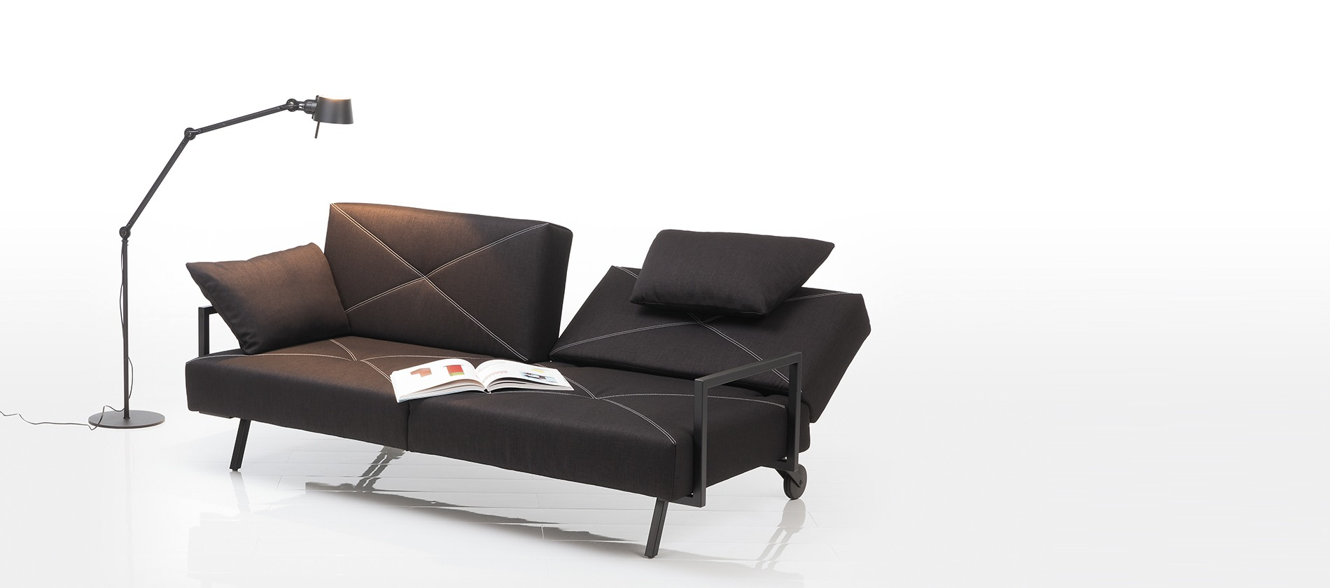 sofa concert von br hl das designer schlafsofa. Black Bedroom Furniture Sets. Home Design Ideas