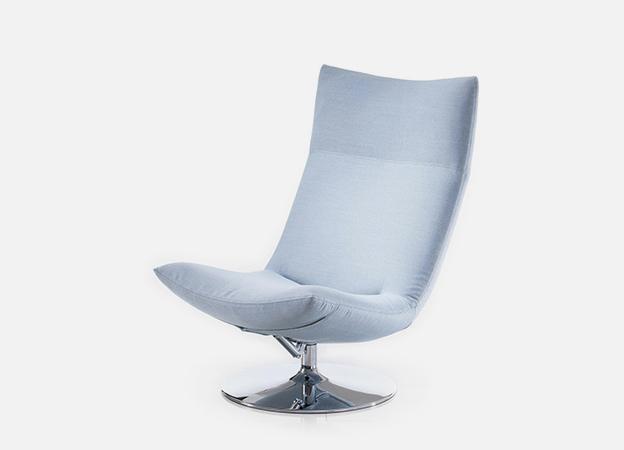 Sessel Gerad von Brühl puristischer und eleganter Sessel