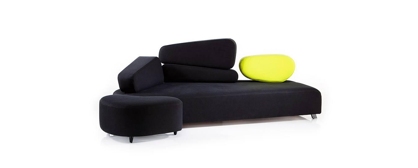 Sofa Mosspink von Brühl - Design Schlafsofa entdecken