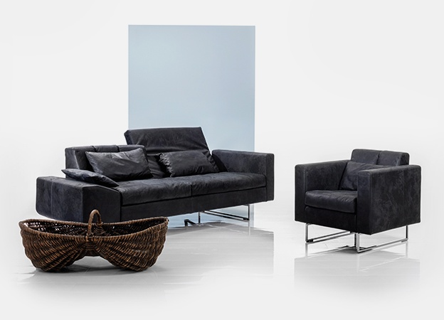 Funktion Sofa Sessel Embrace Leder
