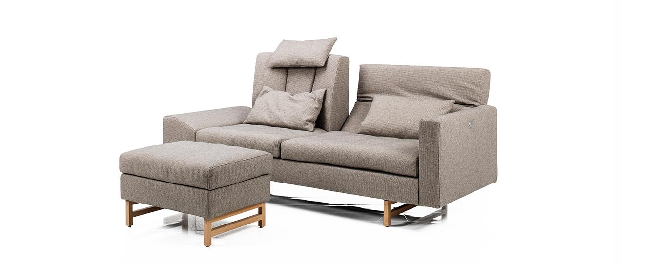 Sofa Hocker Embrace Brühl