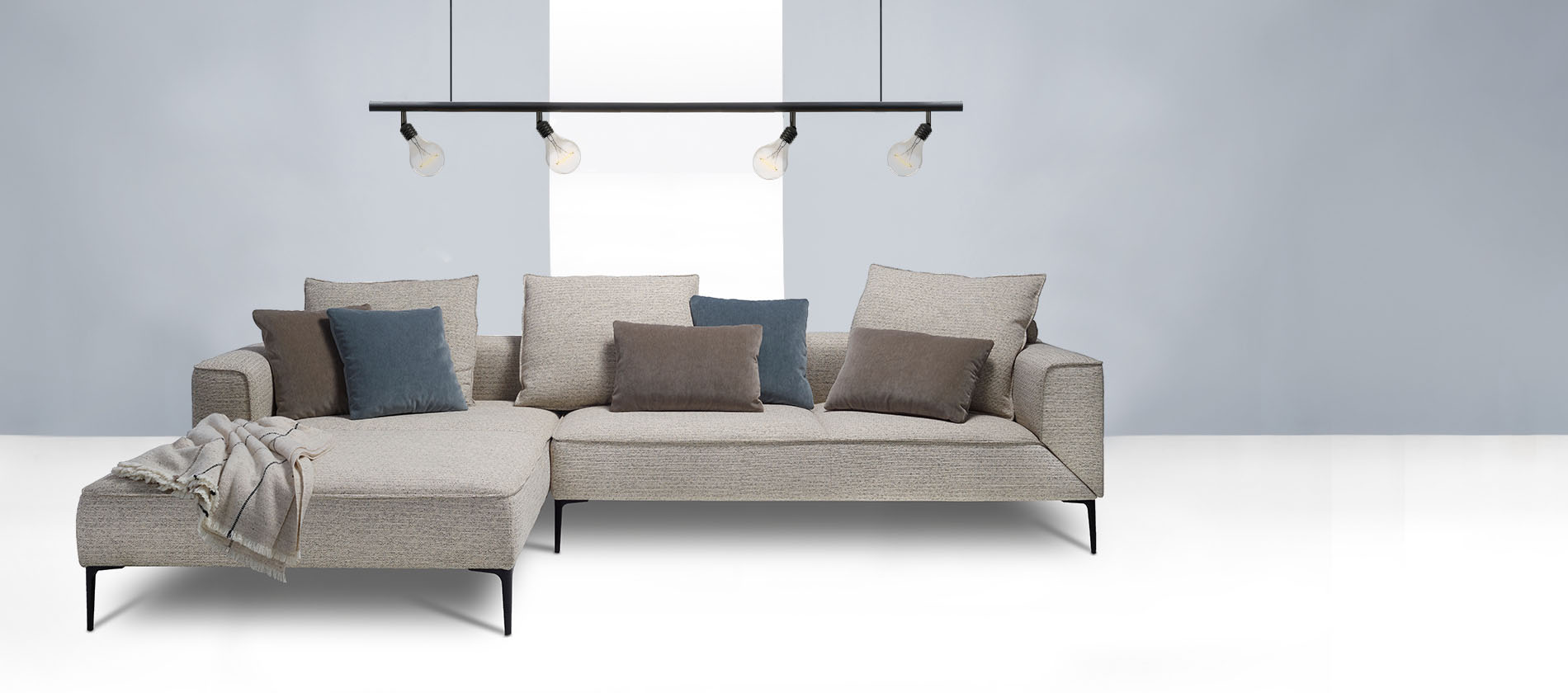 Sofa Longueville Landscape Von Jori Individuelles Designersofa