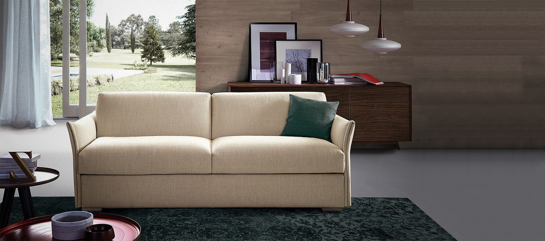 Bettsofa Schlafsofa Young Pol74