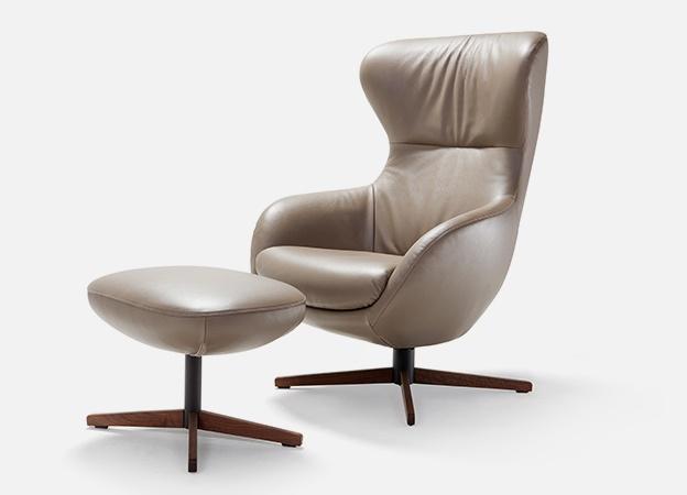 lesesessel mit hocker best charmant gnstige ohrensessel. Black Bedroom Furniture Sets. Home Design Ideas