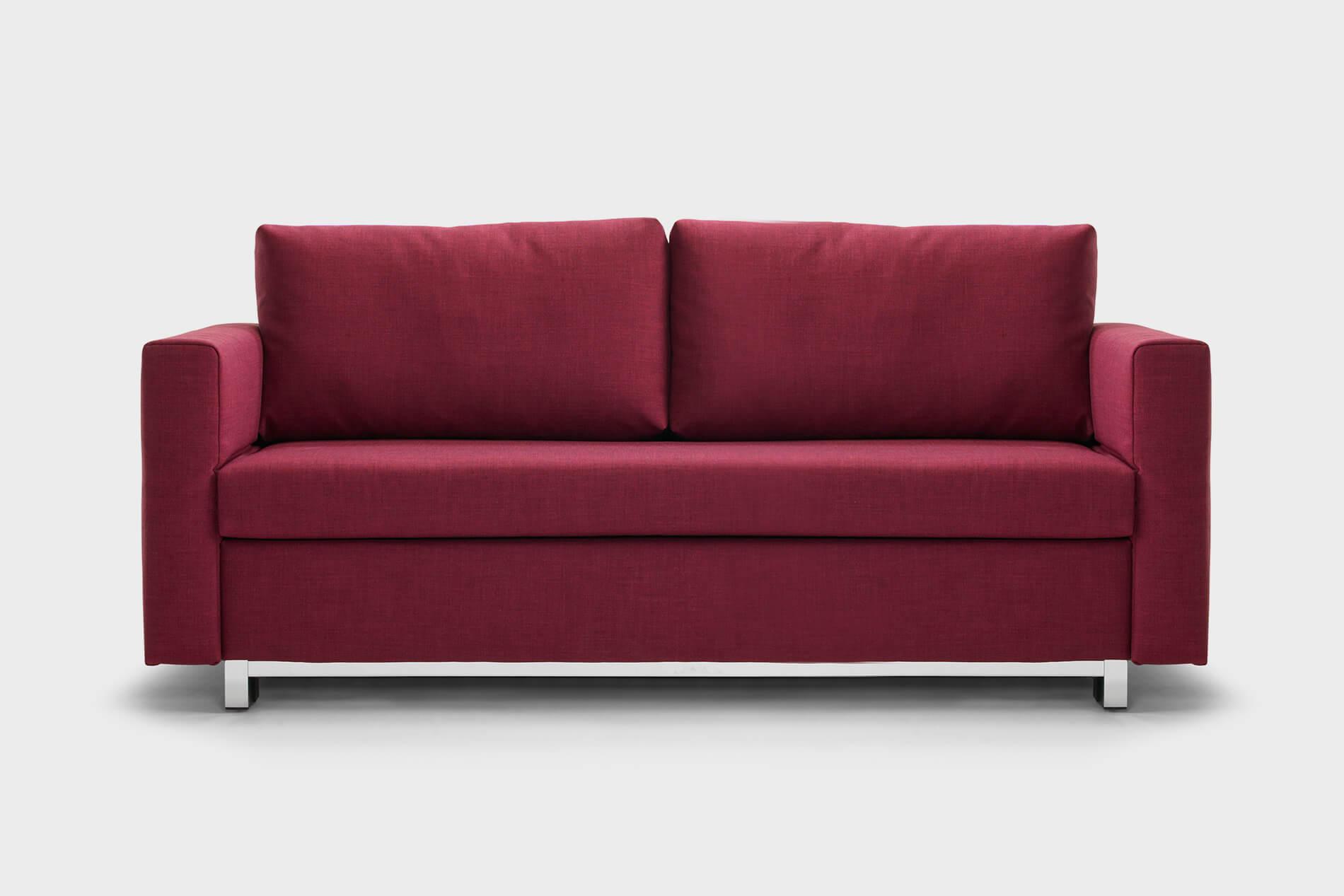 Schlafsofa 140 cm breit trendy modernes schlafsofa for Bettsofa 140 cm breit