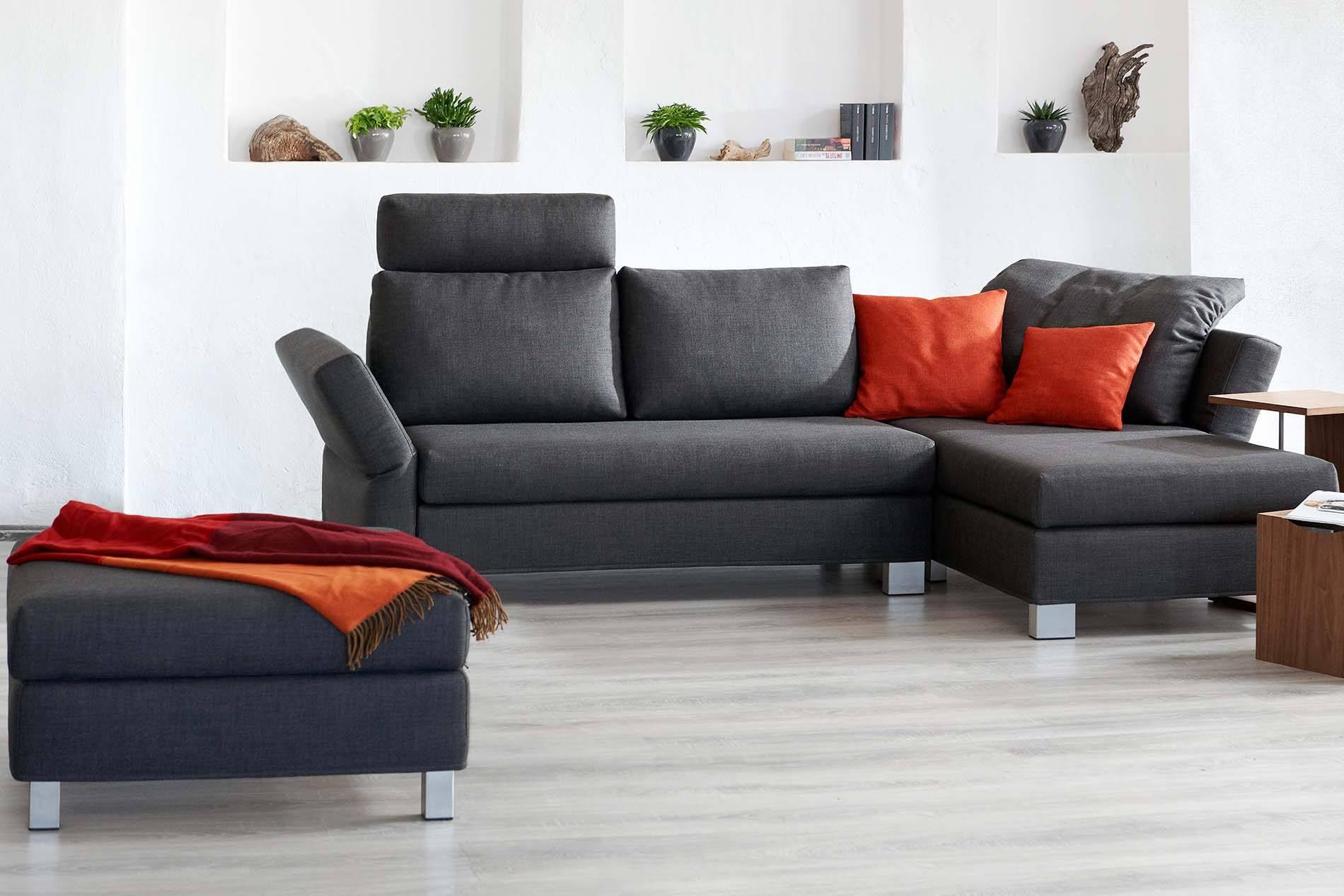ecksofa good life von signet mit integrierten schlafsofa. Black Bedroom Furniture Sets. Home Design Ideas
