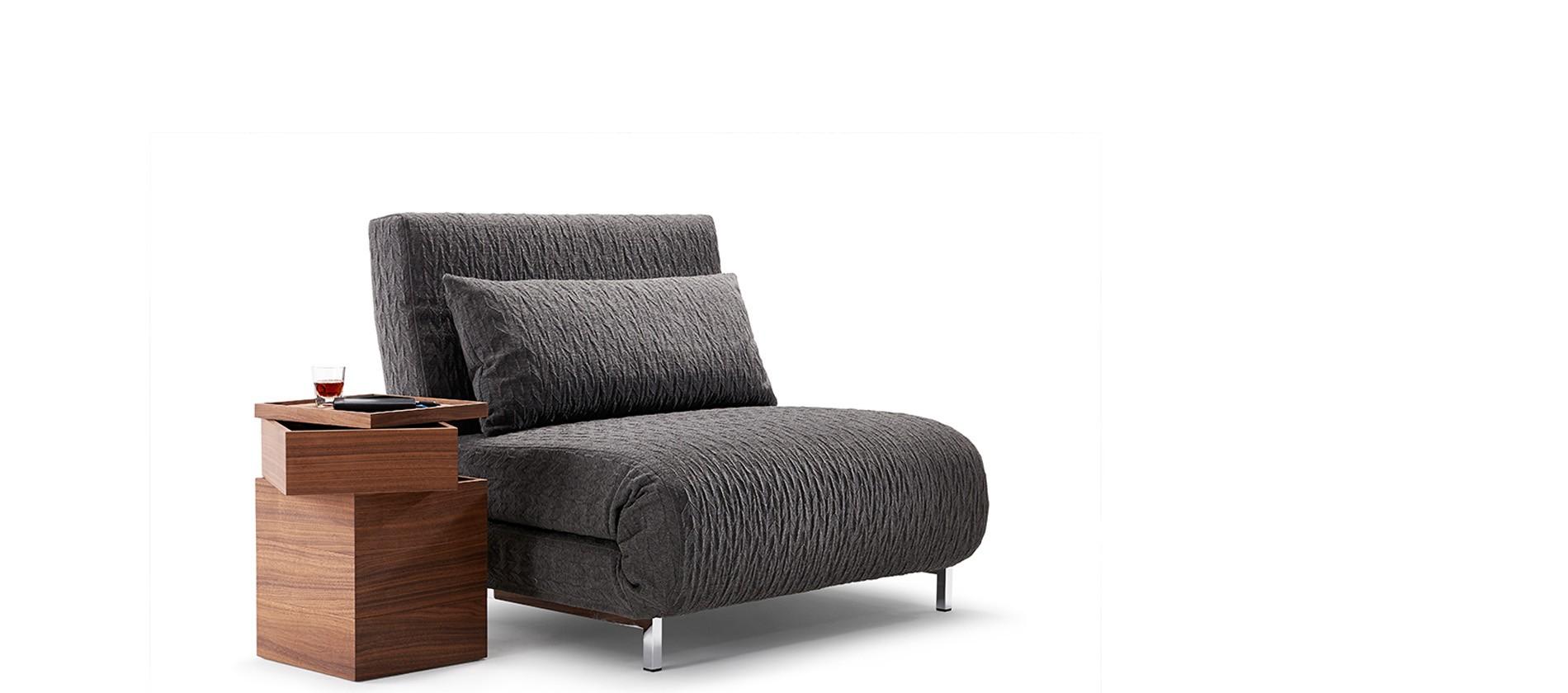 bettsofa pendo von signet sessel liege oder bequemes bett. Black Bedroom Furniture Sets. Home Design Ideas